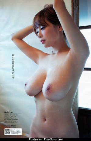 Shion Utsunomiya - Splendid Japanese Floozy with Splendid Exposed Tight Hooters (Sex Picture)