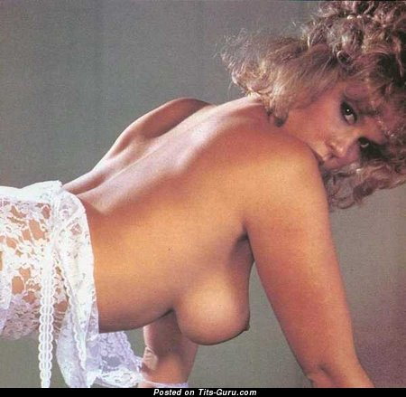 Image. Linda Blair - naked hot lady with medium natural tots pic