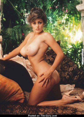 Image. Karen Price - sexy nude blonde with medium natural boob vintage