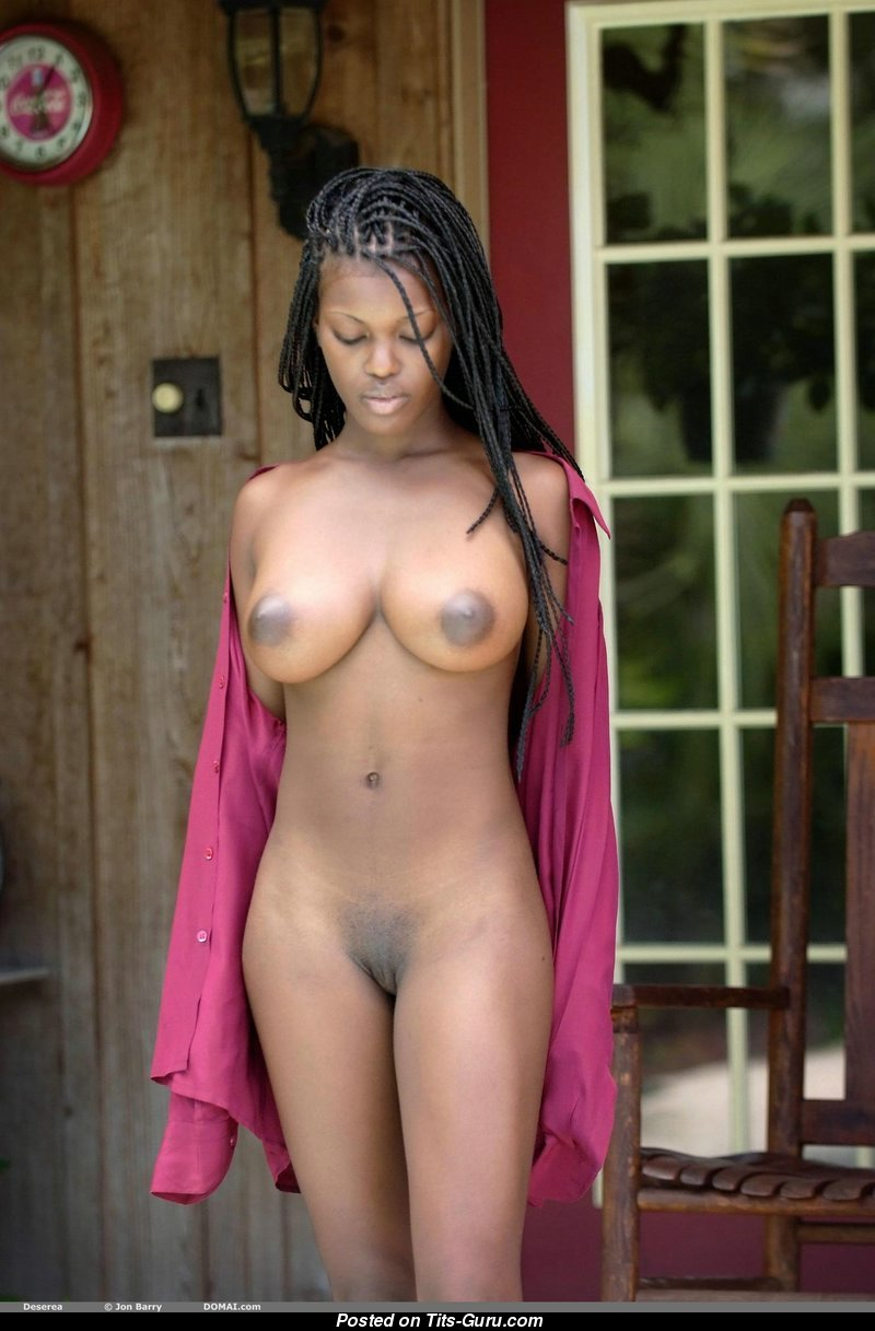 beautiful black breasts