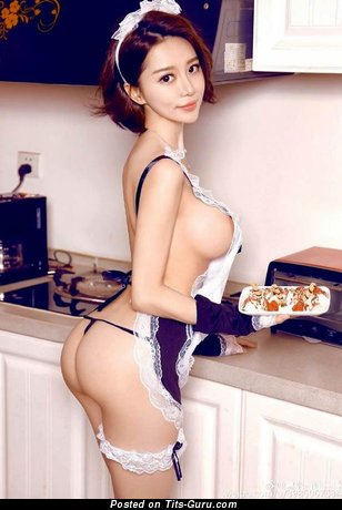 Image. Nude asian with huge tots photo