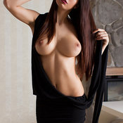 Hot girl with big natural tittes photo
