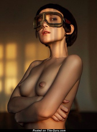 Yummy Babe with Yummy Defenseless Natural Modest Chest (Hd Sex Pix)