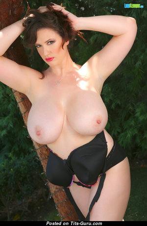 Lana Kendrick & Charming Topless German Brunette & Red Hair Strippers, Mom & Babe with Charming Defenseless Natural Big Sized Chest & Puffy Nipples (4k Porn Picture)