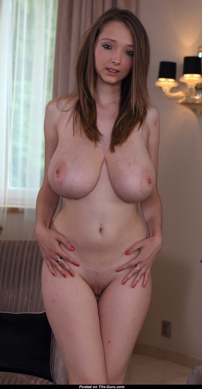 Lucie wilde breast size