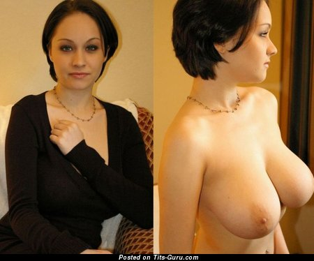 Image. Hot lady with natural breast image