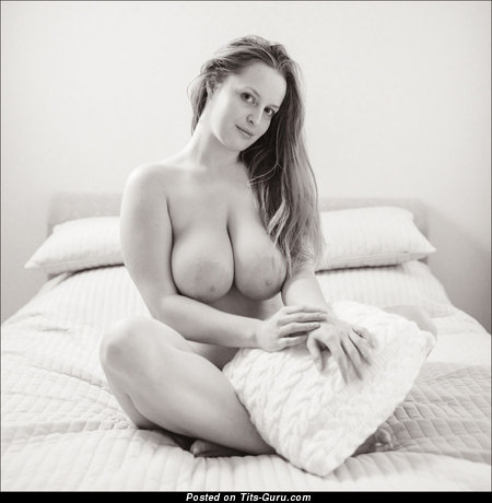 Image. Naked wonderful lady with huge natural tittys photo