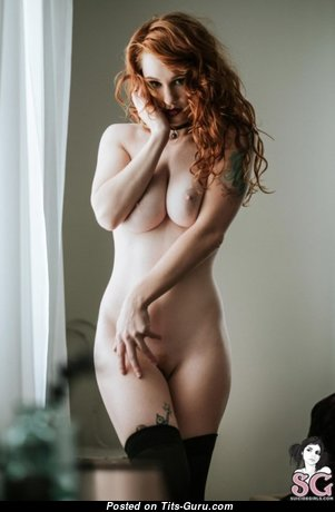 Adorable Unclothed Red Hair Babe (Xxx Photoshoot)