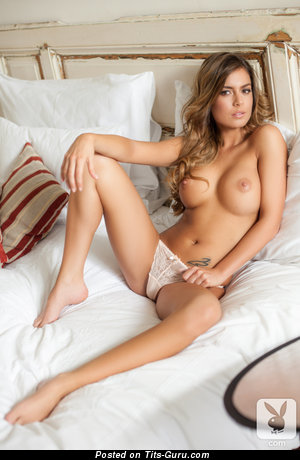 Image. Szandra - nude blonde with big fake tittys image