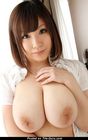 Shinobu Mitsuki - Beautiful Japanese Woman with Beautiful Bare Natural Sizable Knockers (Sexual Pic)
