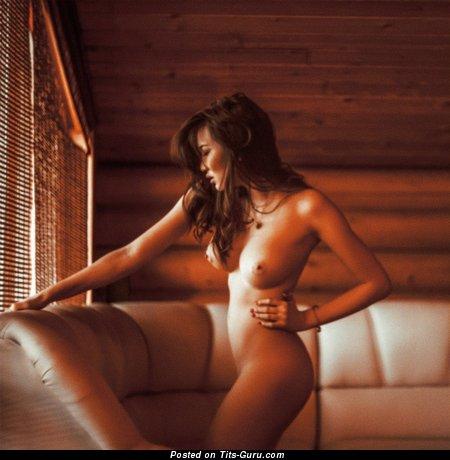 Анель Альбахриева - Fascinating Miss with Fascinating Bald Tight Boobies (Xxx Pix)