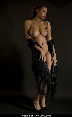 Image. Nude hot female with big natural breast image