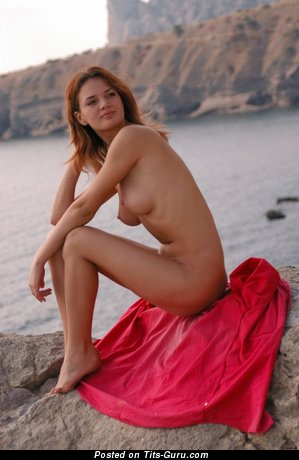 Image. Naked awesome female with natural tots pic