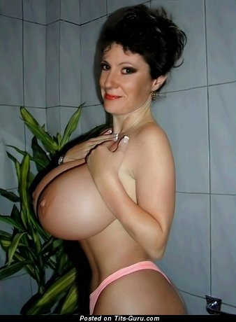 Moyra - topless wonderful woman with big breast image