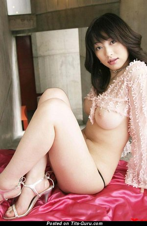 Akari Hoshino - naked asian with big tittys image