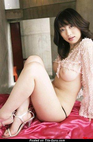 Akari Hoshino - naked asian with big tittys image