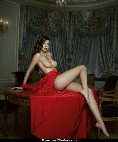 Gorgeous Babe with Gorgeous Nude Natural Medium Tits (Sexual Photoshoot)
