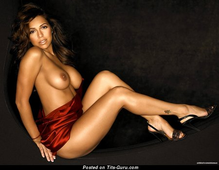 Image. Vida Guerra - sexy nude brunette with big boobies photo
