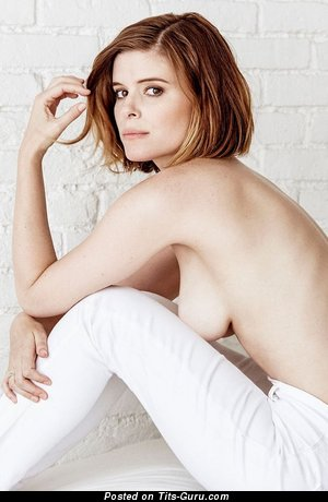 Kate Mara - Adorable Topless American Red Hair Actress with Adorable Naked Natural Dd Size Tits (Hd 18+ Picture)