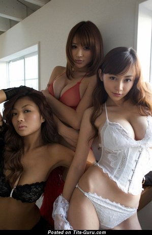 Good-Looking Asian Lady with Good-Looking Defenseless Ddd Size Tittes (Sexual Image)