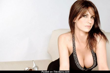 Nancy Dupláa - Beautiful Mom with Beautiful Defenseless Natural Medium Sized Boobs (Porn Photo)