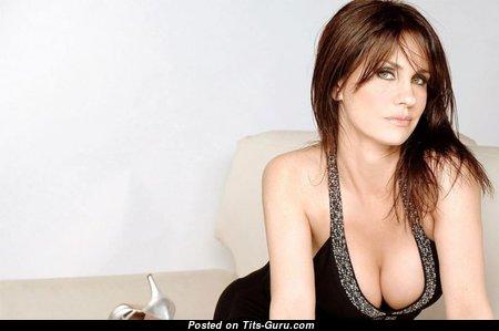 Nancy Dupláa - Delightful Mom with Fine Open Natural Mid Size Titties (Xxx Photoshoot)