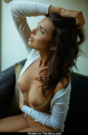 Bojana Krsmanovic - Magnificent Topless Serbian Red Hair with Magnificent Defenseless Real Medium Tots (Sexual Photo)