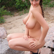 Eekat - beautiful female with big natural boobs pic