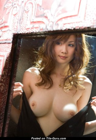 Hot Asian - Exquisite Glamour & Topless Asian Babe with Exquisite Defenseless Natural Medium Tittys (Private Hd Xxx Pic)