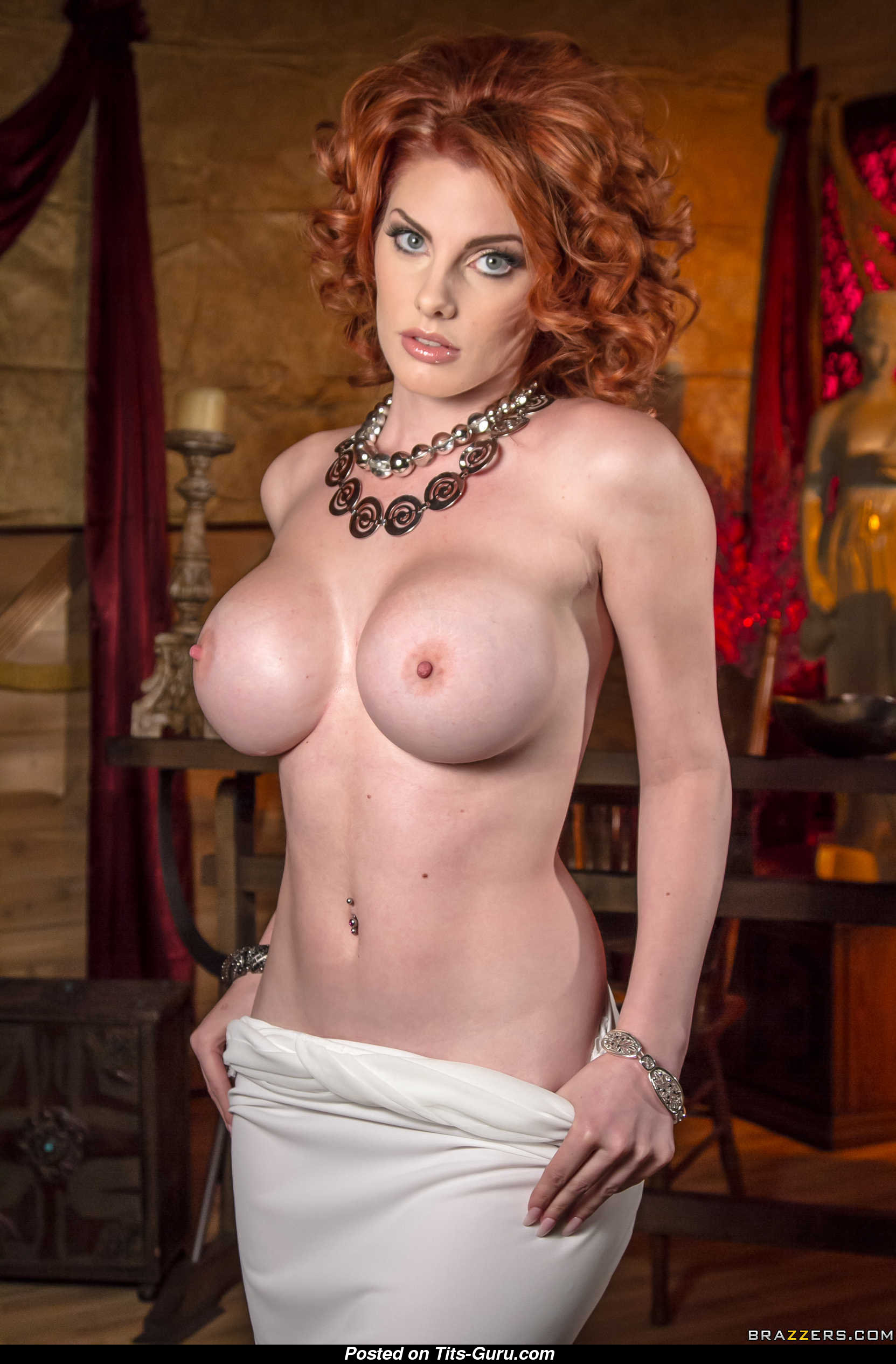 Lilith Lust Naked Asian Red Hair With Fake Boobies Pic