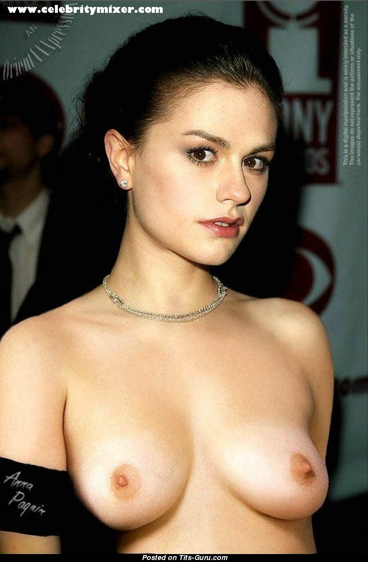 Anna Paquin Nude Asian Blonde With Natural Breast Picture