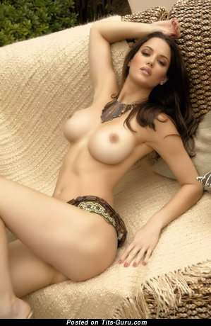 Image. Beautiful female with big fake tittes pic