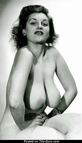 Image. Eleonor Ames - naked nice female with big breast vintage