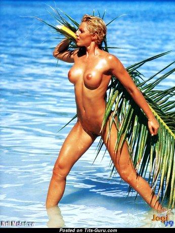 Nell McAndrew - Handsome Unclothed British Blonde (Porn Photoshoot)