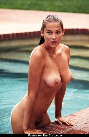 Megan Moore - Appealing Topless Blonde Babe with Appealing Exposed Natural Medium Sized Knockers (Hd 18+ Photoshoot)