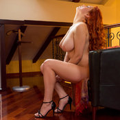 Lilliyth Von Titz Aka Slavka Solnechnaya - red hair with big natural breast photo