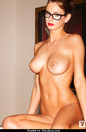 Image. Nude amazing female with medium natural tits picture