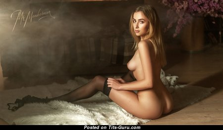 Appealing Babe with Appealing Bare Natural Slight Tittes (Hd 18+ Pix)