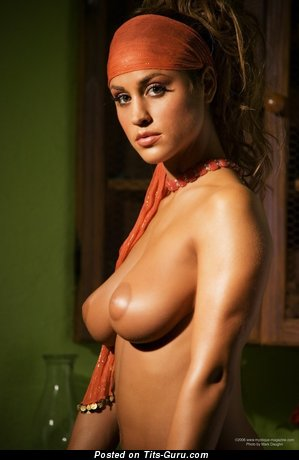 Image. Rebecca Dipietro - amazing woman with big natural boobs picture