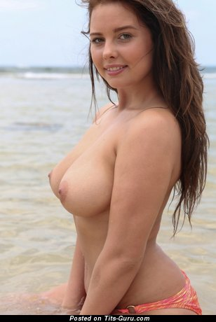 Image. Kim - sexy beautiful lady with medium boobs photo