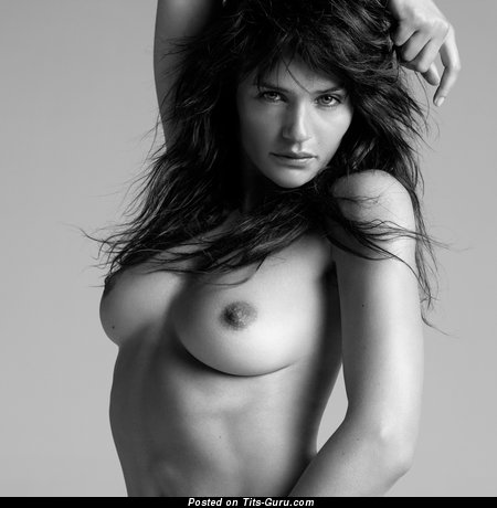 Helena Christensen - Sexy Danish Red Hair with Sexy Bare Real Average Boobies (Hd Sexual Wallpaper)