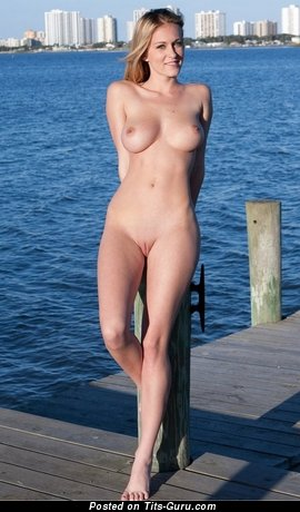 Perfect Blonde with Perfect Exposed Real H Size Boobys (Xxx Image)