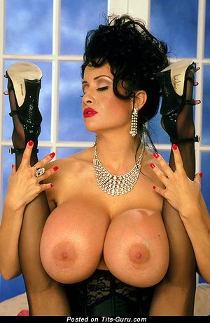 Image. Nude awesome girl with huge tits vintage
