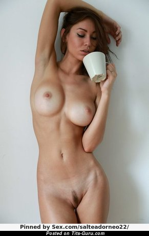 Image. Nice woman with big natural tittes photo