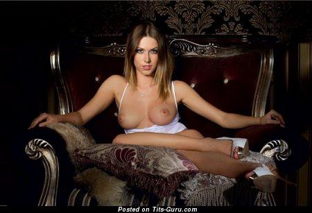 Image. Wonderful girl with medium natural boobies image