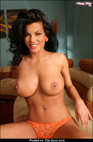Image. Nancy Erminia - nude brunette with big boobs photo