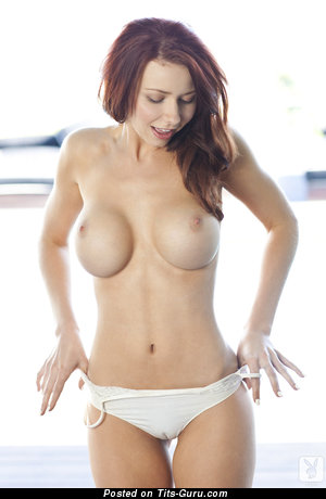 Alyssa Michelle - sexy nude red hair with medium boobs image