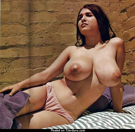 Handsome Babe with Handsome Nude Real Great Melons (Porn Foto)