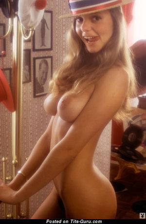 Sandy Johnson - nude wonderful female with medium boob vintage