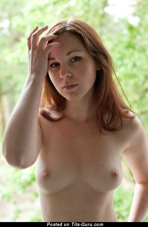 Image. Wonderful lady with natural breast picture